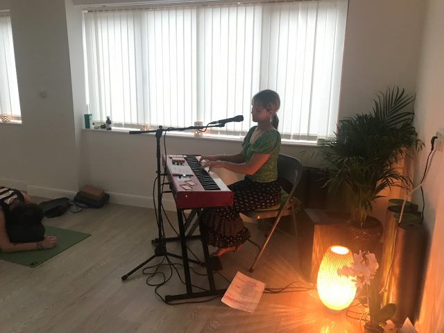 Yoga with live music in Penistone